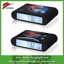 2015 Decorate Luminous Alarm Rotate Smart Clock