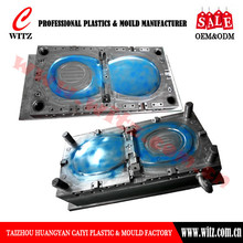 WT-HP01SC plastic toilet seat cover huangyan mould,injection mould manufacturer,mould industry