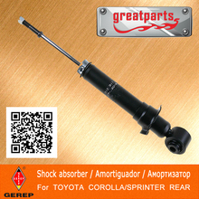 High quality rear Hydraulic shock aHigh quality rear shock absorber fobsorber for TOYOTA COROLLA/SPRINTER 4853112340 4853112360