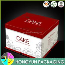 Paper packaging food box birthday cake box
