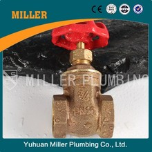 "ML-1502 smooth appearance low resistance 2"" long stem Bronze Gate Valve, Heavy Duty Service, Class 200, NPT Female"