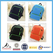 School Bags of Latest Designs Canvas Bags Beautiful School Bag With Four Colors