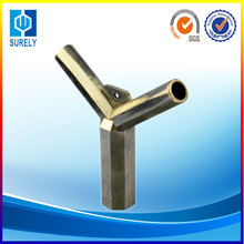 Aluminum die casting parts pipe components