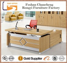New design MDF wooden antique wood office desk furniture