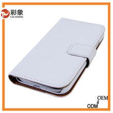 portefeuille style book avec fente pour carte flip couverture mobile cell phone housse en cuir pour samsung