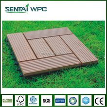 anti slip environmental engineered plastic wood material