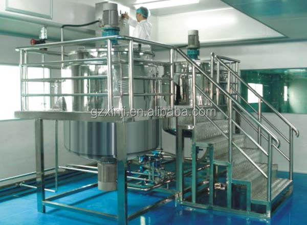 chemical industries Product Type liquid stainless steel mixing tank