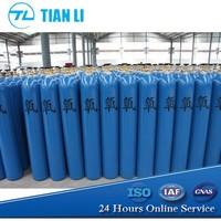 7L High Pressure Seamless Steel Small Portable Oxygen Cylinder, Mini Oxygen Cylinder