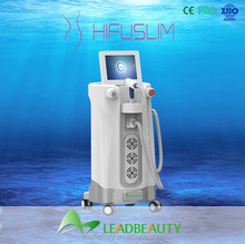 High Intensity Focused Ultrasound slimming machine vacuum suction without harm to the human body