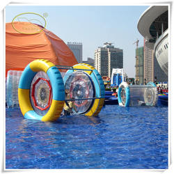 Popular Water Park Toys Inflatable Water Wheel ,hamster toys,hamster water ball