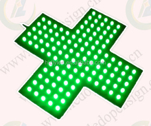 factory price LED cross sign