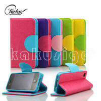The newest ultra-thin universal smart phone wallet style leather case