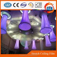 plastic lighting boxes decorative beautiful pvc stretch colorful film