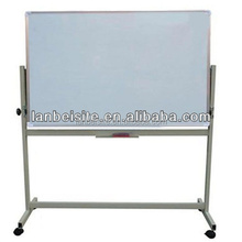 Enamel Porcelain Dry Erase Whiteboard with marker and stand