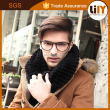 man cool warm scarf set of head scarf for wholesale
