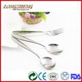 2014 nuevo diseño de acero inoxidable tenedor cuchara de postre c0301-c0303 cuchillo tenedor cuchara