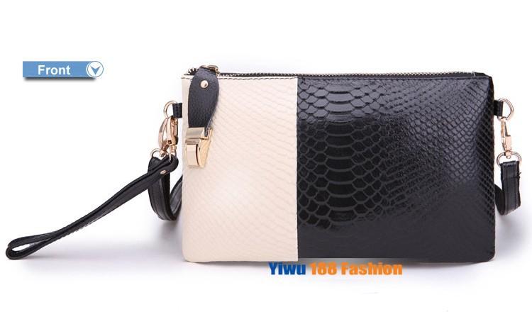 Элегантная сумка-клатч из натуральной кожи фото