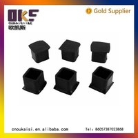 best selling products Square Shape rubber feet for chair/ equipment/ ladders