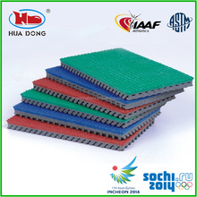 Olympic Games Supplier Sports Flooring Athlete Rubber Flooring