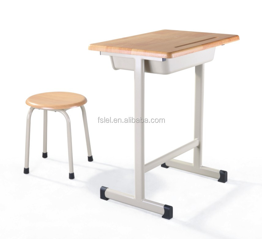 School Furniture School Student Deak And Chair Combo Shool Wooden Table And S