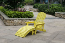 High quality Plastic Garden frog Chair/ Colorful Polywood Patio Chair