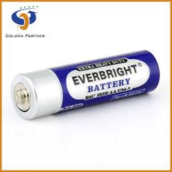 Online shopping heavy duty r6 aa size 1.5v battery in pvc jacket