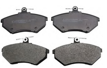 the most effective Auto part/Car parts/Disc brake pad OEM 357 698 151 B/357615115a for famous car