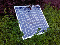 50w high efficiency poly-crystalline solar panel