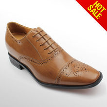High class men height increasing shoes/leader shoes for men