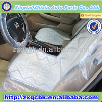 2015 new design, fashionable plastic car seat cover/disposable car seat cover with logo printed