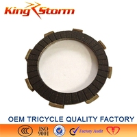 2015 new product from alibaba 3 wheelers motorcycle spare parts,bajaj eterno motorcycle parts paper base clutch plate