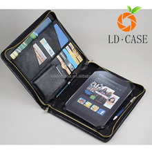 Guangzhou factory genuine leather briefcase for amazon Kindle paperwhite case