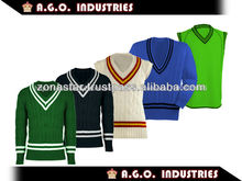 Cricket suéters/suéter de punto/deportivo personalizado suéter/suéter de cricket/deportes suéter/