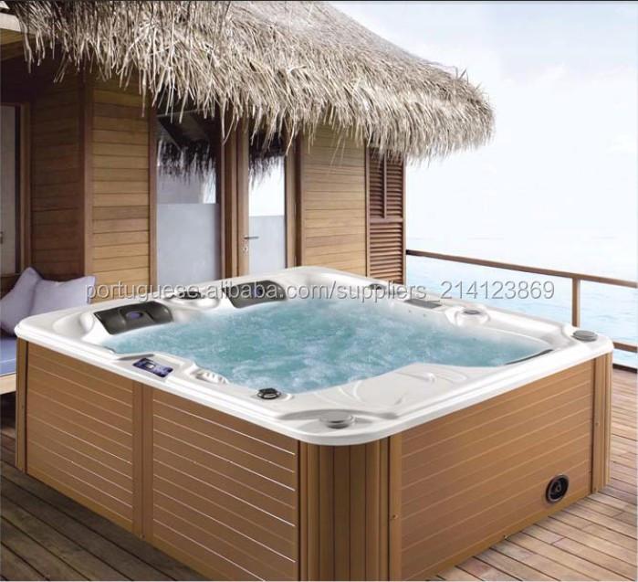 acrlico outdoor jacuzzi spa grande luxo e mini banheira de para venda