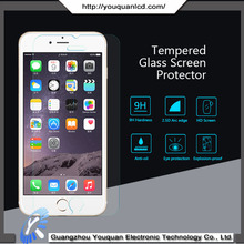 Tempered glass screen protector and cleaner for iphone 6