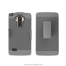 new mobile phone cover shockproof with kickstand pc phone case for Kyocera Hydro Icon c6730/Life c6530