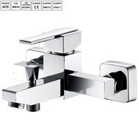 Bathroom bath surface mounted shower faucet