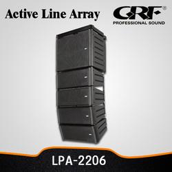 Plastic Active 12 Inch Mini Line Array Best Cincert Speaker