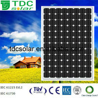 High efficiency 250w Photovoltaics panel with TUV,IEC,CE,ISO certificate