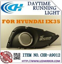 FOR HYUNDAI IX35 auto accessories LED DRL CAR DAYTIME RUNNING LIGHT