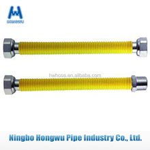 Nature Gas Pipe Yellow Color Factory Supply