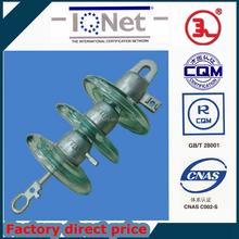 Cast iron High Voltage Suspension Heterotype Glass Insulator caps