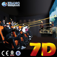 South Korea advanced technology hydraulic system 7d theater