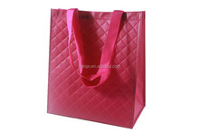 New Style Croco emboss custom full color pp non woven laminated shopping bag (BSCI audited)