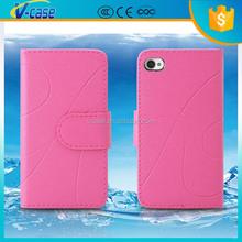 Colorful simple fashion design flip leather case for nokia lumia 620