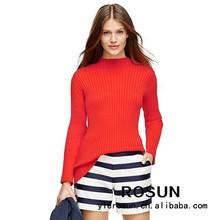 nouveau modèle casual femmes pull pull col cheminée mode coréenne gros