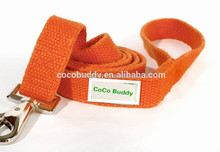 Hypoallergenic hemp webbing dog leashes comfortable dog lead made by hemp and cotton on sale