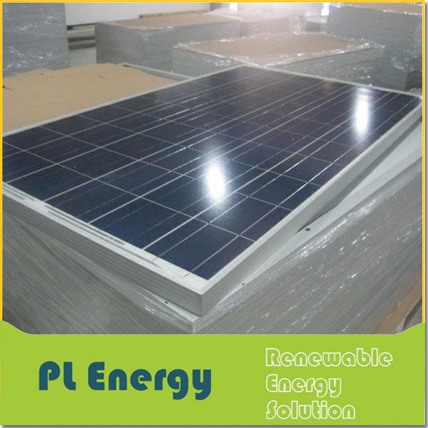 الصين ارتفاع كفاءة الألواح الشمسية السيليكون بولي 250w الاستيراد