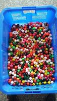 27mm soccer ball,tennis ball,spider ball assortment in bulk packing