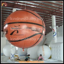 inflatable basketball, inflatable promotion basketball model, inflatable floating ball